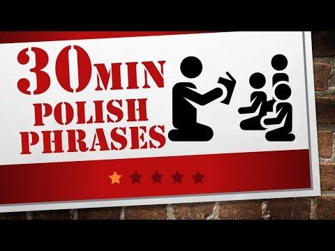 kindergarten Polish lesson 60 Polish phrases Polish for beginners