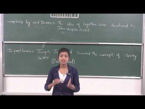 COMP XI-1-02 Evolution of computer by Sandhya, Pradeep Kshetrapal  channel