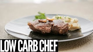 Easy to Make Steak Dinner | High Protein, Low Carb