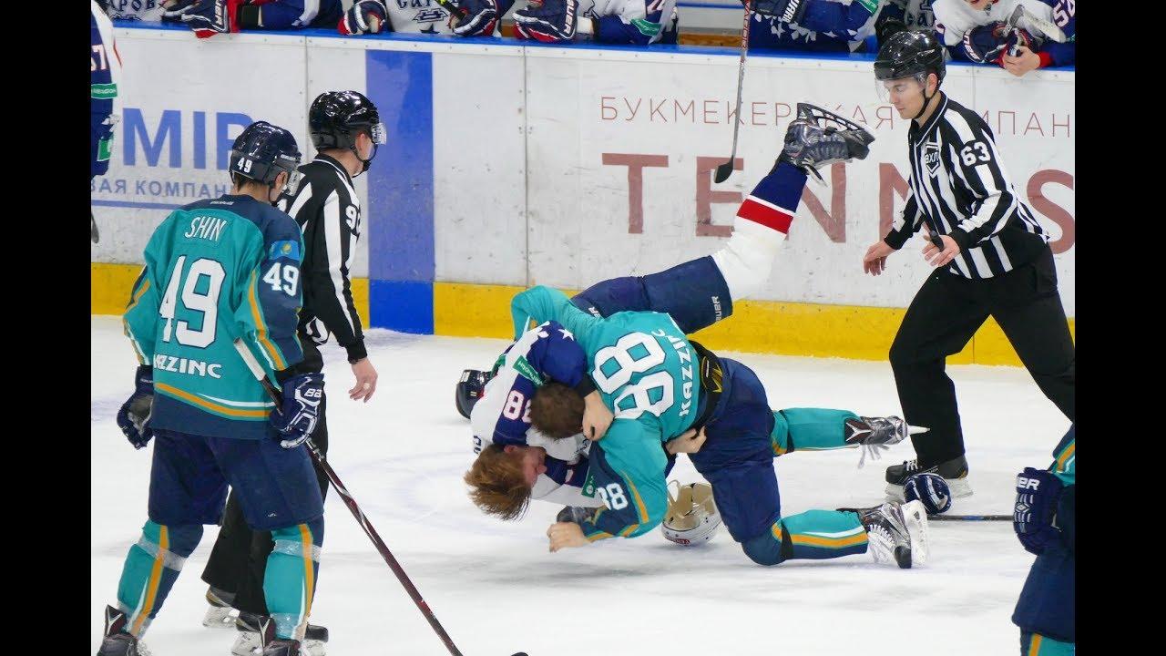 Драка: Евгений Рымарев VS Михаил Смолин