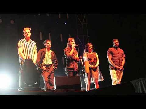 Avi's Speech before LITH - Pentatonix Live - Nebraska State Fair - Grand Island - 8/26/17