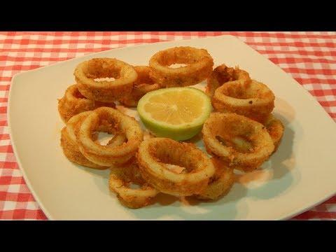 Receta fácil de calamares fritos a la Andaluza adobados