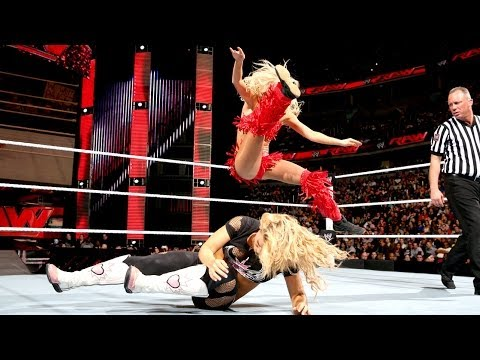 WWE Raw 31.03.2014 - Summer Rae vs.Natalya