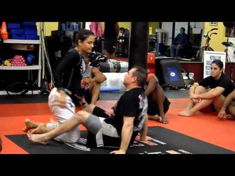 Guard Sweep Defense with Kyra Gracie