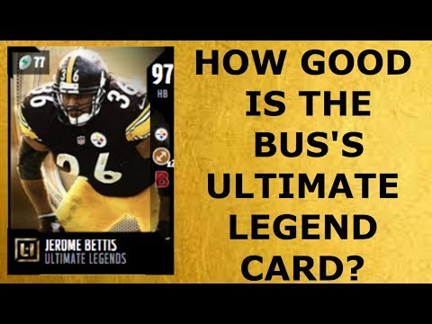HOW GOOD IS FULL ULTIMATE LEGEND JEROME BETTIS?