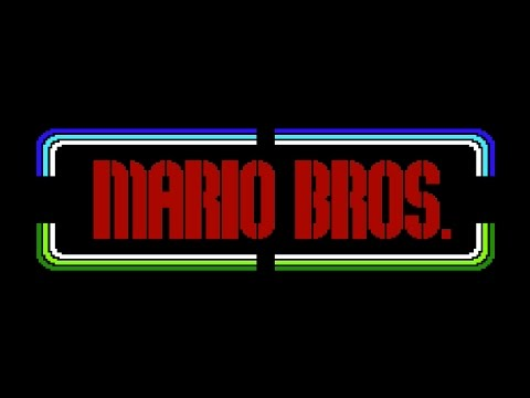 Mario Bros. (Nintendo, 1986) - NES Gameplay HD