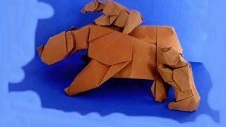Fold An Origami Grizzly Bear Cub! - Barth Dunkan