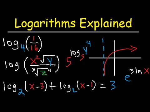 Смотрите сегодня видео новости Solving Logarithmic Equations With Different  Bases - Algebra 2 & Precalculus на онлайн канале Russia-Video-News Ru