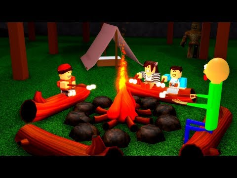 Baldi Goes Camping (Roblox Animation)