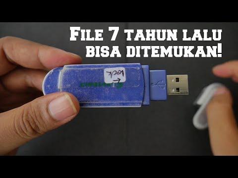 Cara mengembalikan File di flashdisk yang terformat dengan mudah.