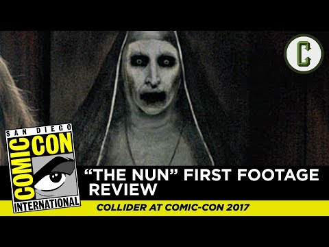 The Nun First Footage Review - SDCC 2017