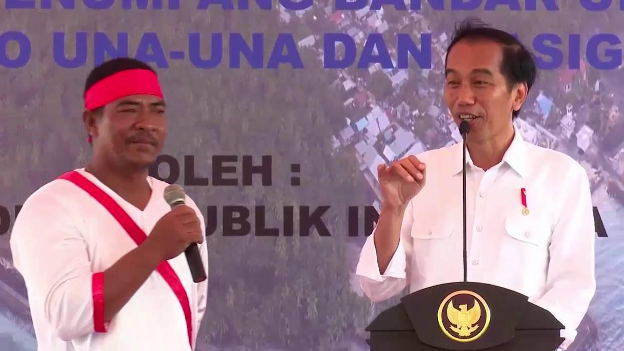 Lucu Jokowi Ngakak Terpingkal Pingkal Nelayan Menjawab Jenis Ikan Ikan Indosiar You