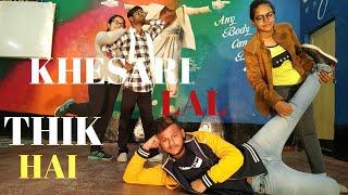THIK HAI   KHESARI LAL   DANCETA   DANCE CHOREOGRAPHY