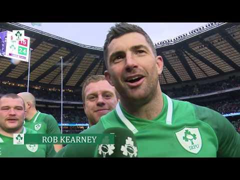 Irish Rugby TV: Rob Kearney Savours His Second Grand Slam
