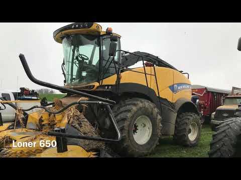 Maple Ridge Farms 2017 corn silage harvest