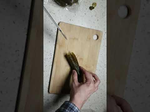 """Нож из """"Пятёрочки"""" Сантоку малый 13,5 см"""