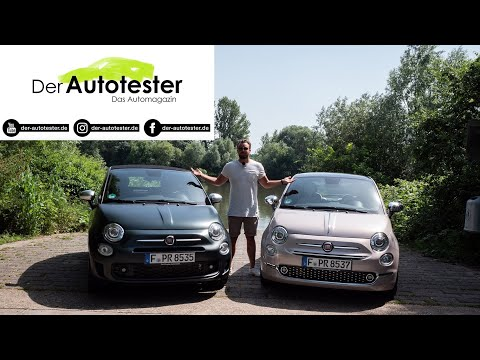 "2020 Fiat 500 ""Star"" vs. ""Rockstar"" (69/85 PS) 🇮🇹 | Fahrbericht | FULL Review | POV | Test-Drive."