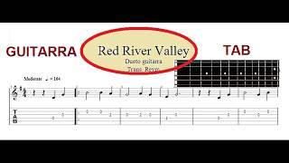 Como tocar Red River Valley - Guitar tab