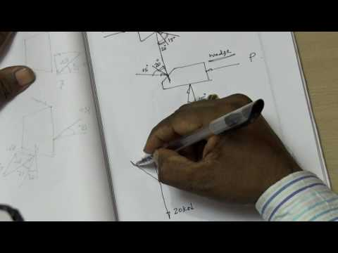 Engineering Mechanics made easy by Prof Dr R Edison Friction Problem 6