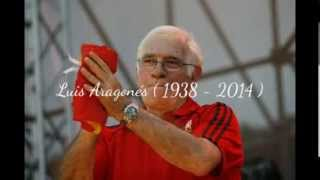 Camp Nou Barcelona - Valencia Tribute to Luis Aragonés Suarez (1938 - 2014)