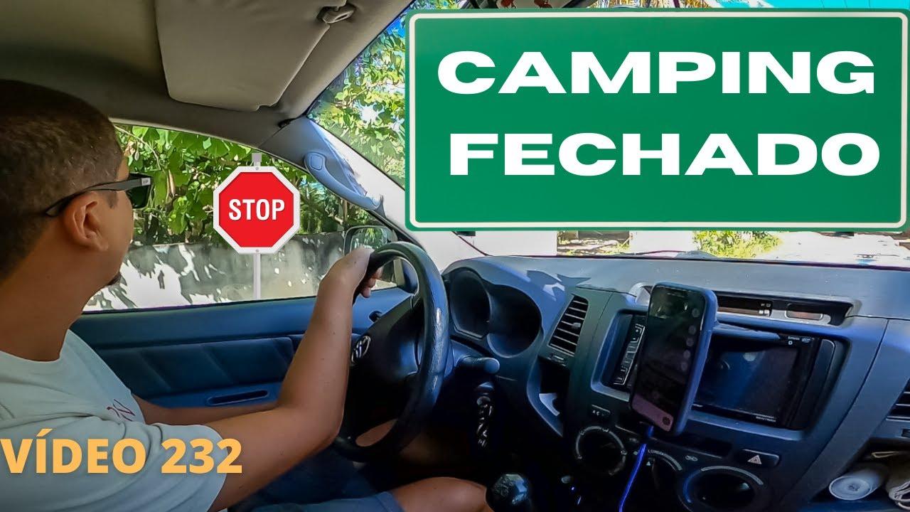 CHEGAMOS EM MARAGOGI E COM OS CAMPINGS TODOS FECHADOS DORMIMOS NA RUA - VÍDEO 232