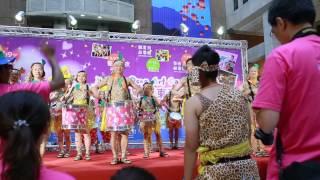1030710羅東藝穗節開幕記者會里長森巴鼓表演