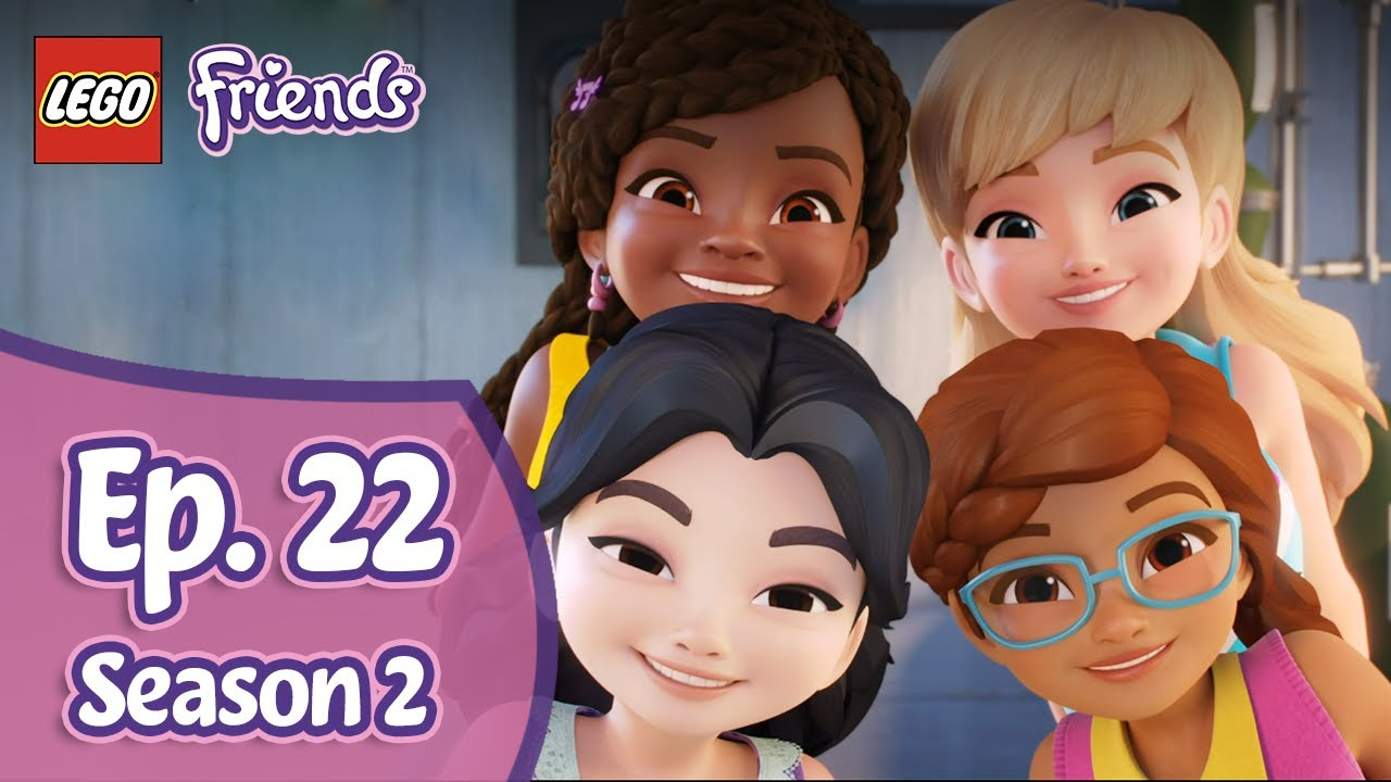 LEGO Friends Girls on a Mission - Stake Out - Season 2 Episode 22
