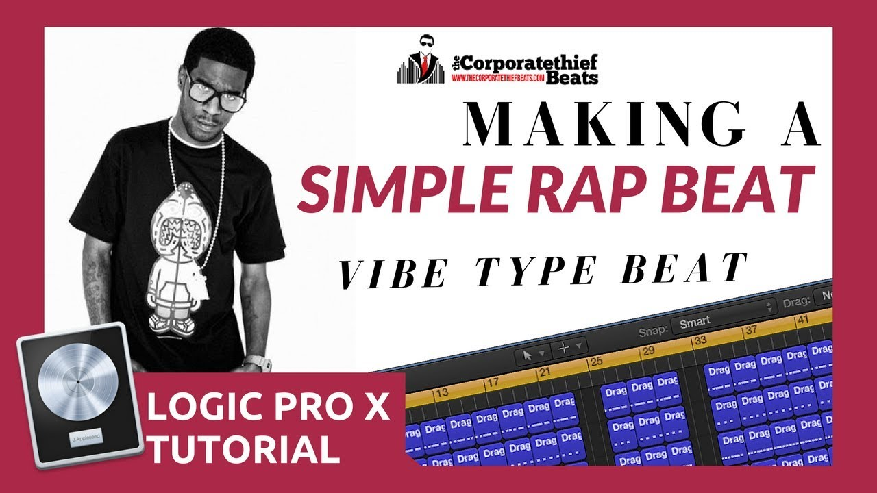 How To Make A Simple Rap Beat {Logic Pro X Tutorial}