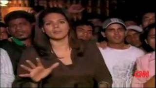 Rape attempt on CNN reporter by Indian crowd