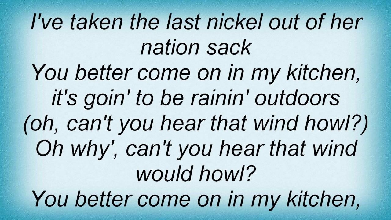 Robert Johnson - Come On In My Kitchen Lyrics - YouTube