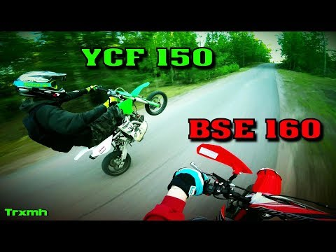 Pit Bikes Summer Riding YCF 150 & BSE 160