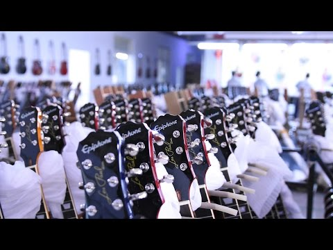 Epiphone Factory Tour in China [English Sub]〜室長が行く!エピフォン中国青島