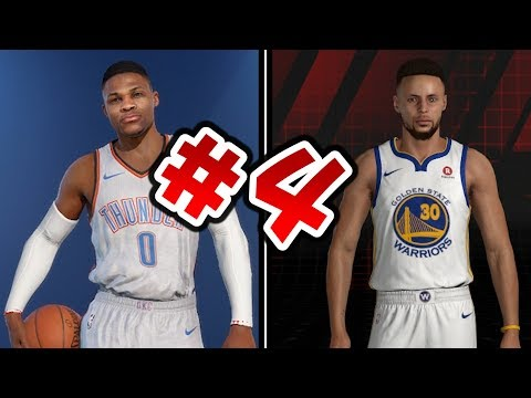The 5 Best Players In NBA Live 18 Vs NBA 2K18