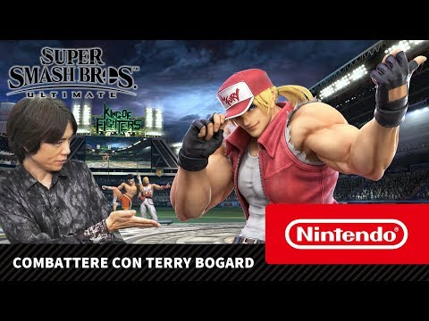 Super Smash Bros. Ultimate – Combattere Con Terry Bogard (Nintendo Switch)