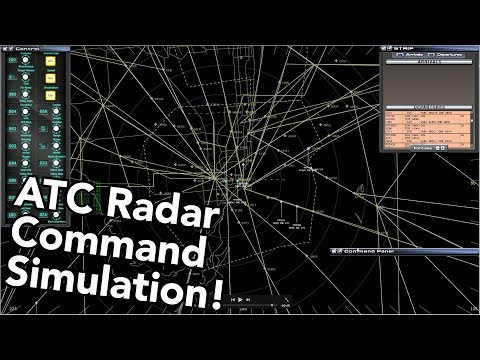 TRACON Air Traffic Control SIMULATOR Review (Tracon!2012:SE Demo + Review)