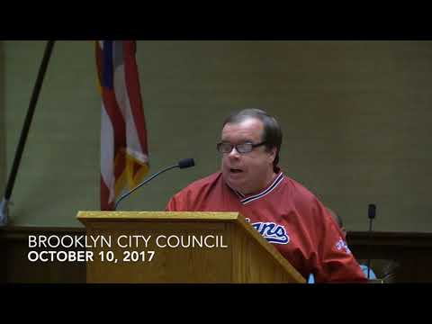Brooklyn City Council Meeting 10/10/17