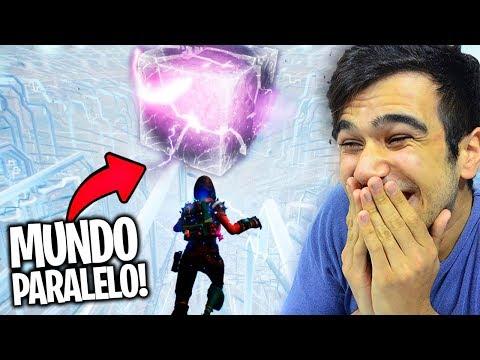 O CUBO EXPLODIU E CRIOU UMA OUTRA DIMENSÃO! Fortnite: Battle Royale