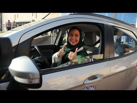 Landmark Day: Saudi Arabia officially lifts ban on women driving