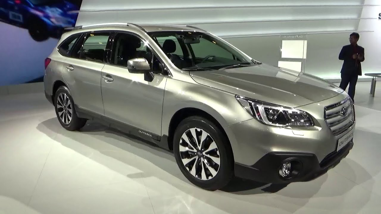 2016 - Subaru Outback AWD - Exterior and Interior - Geneva Motor Show 2015 - YouTube