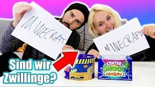 SIND NINA & KAAN ZWILLINGE? 2 Dumme = 1 Gedanke! Challenge mit ekligen Bohnen & Center Shocks Strafe