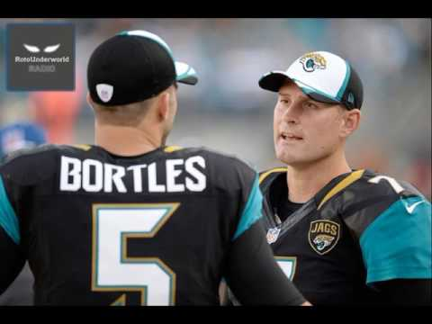 Chad Henne will start games after the Jaguars bench Blake Bortles in 2017