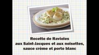 Une Recette De Ravioles Aux Saint-jacques Simple Et Facile