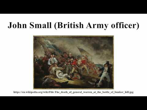 John Small (British Army officer)