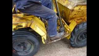 Dumper Yellow. Petter Engine. MOV