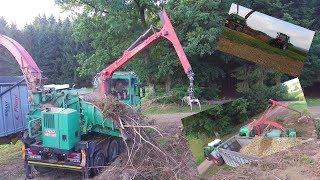 Gambar cover Holzhäckseln mit Jenz HEM 583, Fendt 930 und MF I AgrarTv