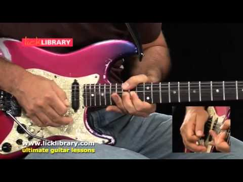 Smooth Jazz Guitar Techniques Performance - Guitar Lessons With Richard Smith Licklibrary