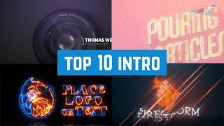 Top 10 Intro Logo 2019 #3 Free Download | After Effect Template