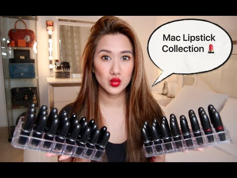 My MAC Lipstick Collection & Lips Swatches! (UPDATED) | Pinay Youtuber in Kuwait