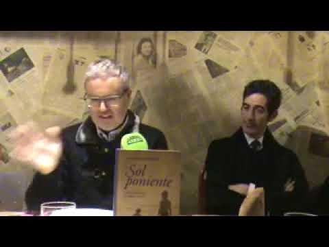 Presentación de SOL PONIENTE, de Antonio Fontana, Premio Málaga de Novela 2017