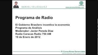 La economía de Brasil